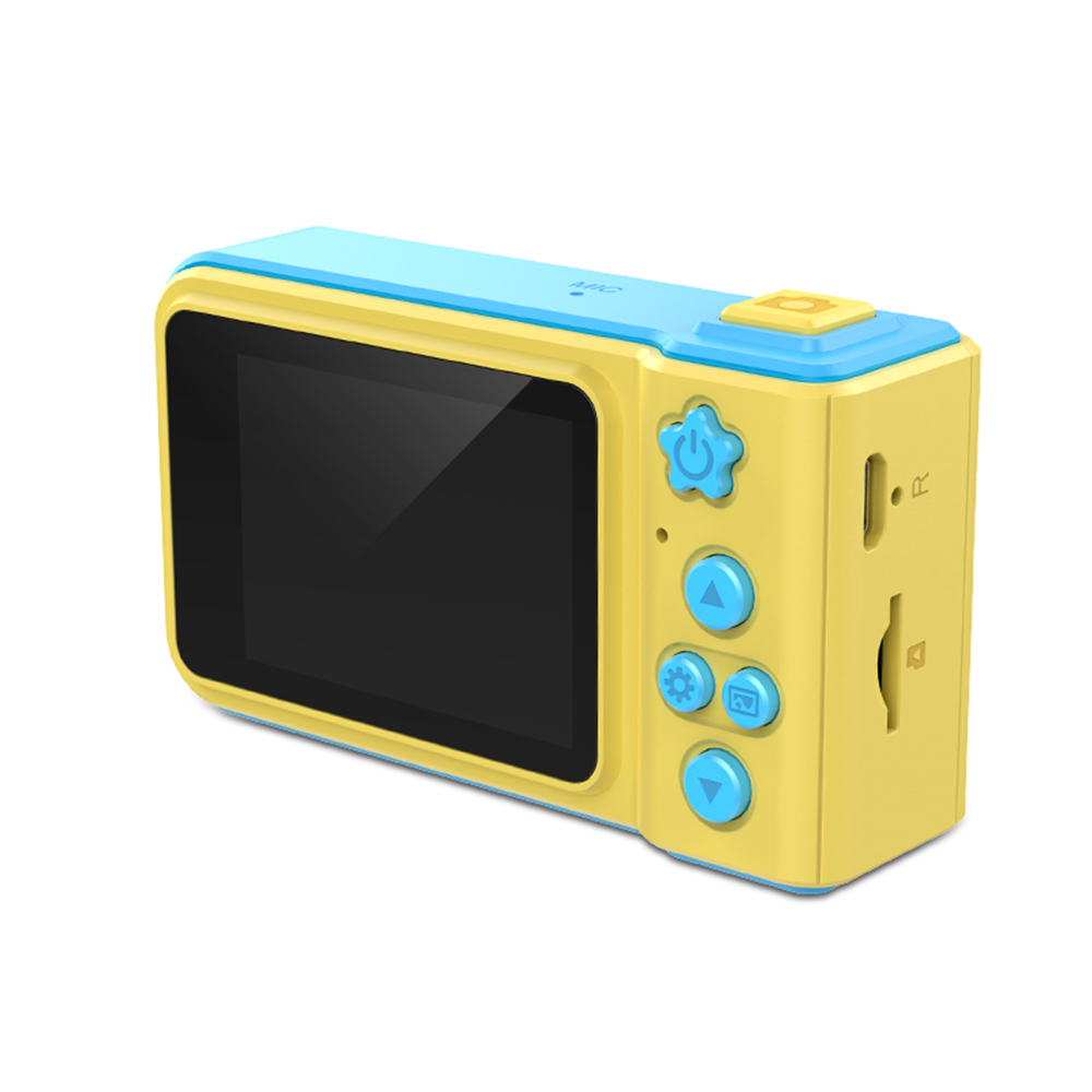 Honest Portable Kids Digital Camera With 1.5 Inch Display Screen Multiple Languages Birthday Holiday Gift Toy For Children Boys Girls Mini Camcorders