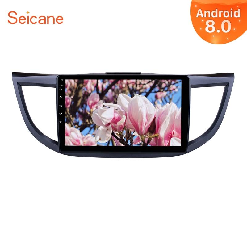 Seicane Android 8,0/2011 2015 pulgadas 1Din Car Radio para 10,1-8,1 Honda CRV sistema de navegación GPS 3G Wifi reproductor Multimedia
