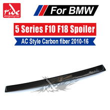 For BMW F10 Tail Spoiler Wing AC Style Carbon Fiber 5-Series 520i 525i 528i 530i 535i 535d 550i wing Rear Roof spoiler 10-16