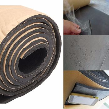 1Roll 200cmx50cm Car Sound Proofing Deadening Anti-noise Sound Insulation Cotton Heat Closed Cell Foam Car Accessories 1