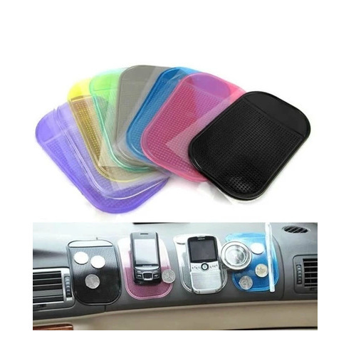 50pcslots Styling Sticky Gel Pad Holder Magic Dashboard Silicone Anti Non Slip Mat Car Accessories Car for Gadget Phone