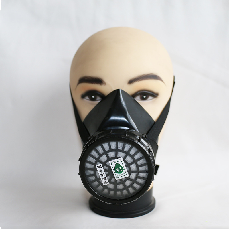 A-2 Anti-virus Half Face Mask Chemical Dustproof Anti-virus Gas Anti-acid Alkali Respiratory Protection Industrial Pesticide Spr