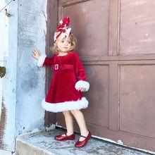 Dress Kids Party Xmas Dresses