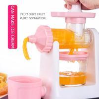 Kitchen Tools Hand Crank Manual Juicer Orange Lemon Squeezer Fruit Extractor Ice Cream Maker Machine Fruit Juicer Kitchen Gadget