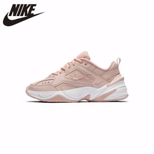 Nike  Original M2K TEKNO Women Light Running Shoes Comfortable Outdoor Breathable Sneakers New Arrival #AO3108 original new arrival nike men s hypervenom phelon ii tf light comfortable football soccer shoes sneakers