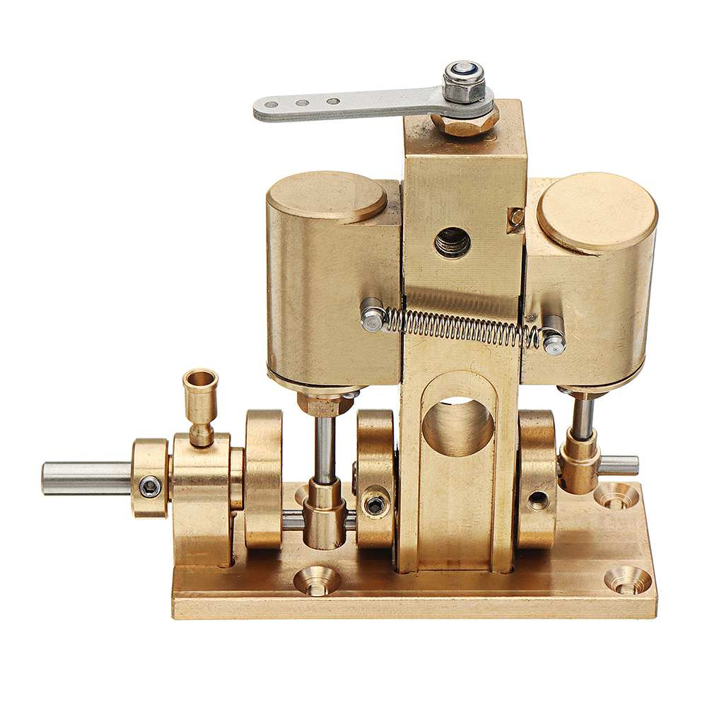 Microcosm M36 Twin Cylinder Oscillating Engine Model Toy Gift Children Physical Law Toy Kids DIY Project Part Metal 85x79x67mmMicrocosm M36 Twin Cylinder Oscillating Engine Model Toy Gift Children Physical Law Toy Kids DIY Project Part Metal 85x79x67mm