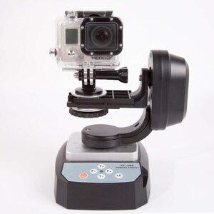 Image 2 - TCES ZIFON YT 500 אוטומטי שלט רחוק פאן הטיה אוטומטי ממונע מסתובב וידאו חצובה ראש מקסימום עבור iPhone 7/7 בתוספת/6