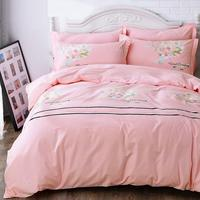 Lencoes Dekbedovertrek Lits jumeaux Fundas Nordicas Linge Lit Cotton Linen Bed Roupa Ropa De Cama Sheet And Quilt Bedsheet Set