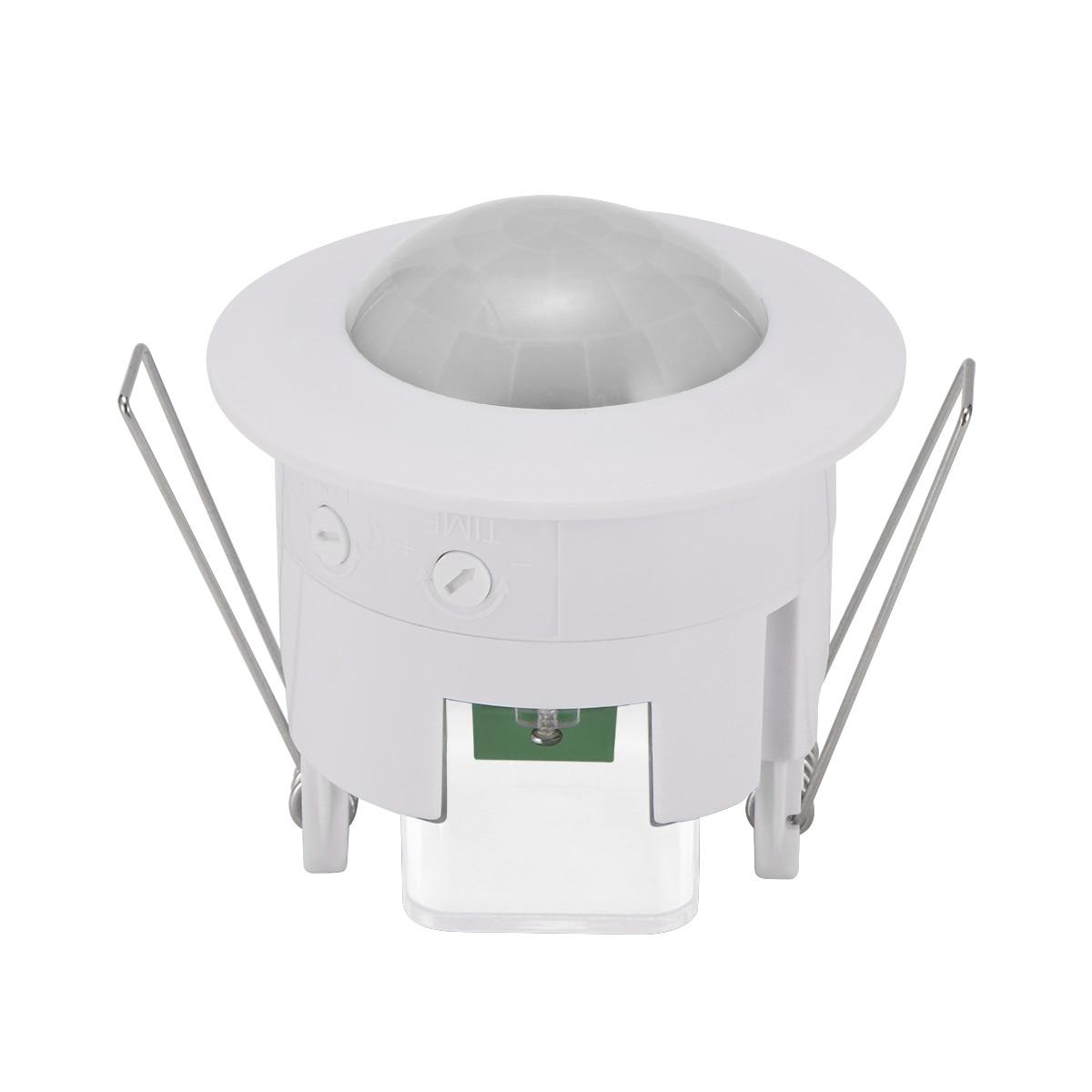 Инфракрасный датчик движения, мини-светильник с датчиком движения 360 градусов