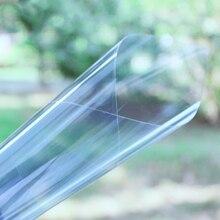 50 см X 152 см термостойкая УФ Отвергнутая VLT70 % IR95 % нано Керамическая Солнечная Тонировочная пленка для стекол