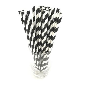 Milkshakes Office Striped etc Colorful Straws Pack Home Casual Party Plastic Juice Milk 6mm Disposable 1 Drinking Tea