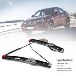 Vodool Mobil Depan Sisi Kanan Jendela Regulator Auto Kaca Jendela Lifter untuk E46 Perbaikan Kit dengan Motor 51337020660 untuk BMW 3 Series