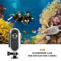 30m Waterproof Protection Housing Case Underwater Diving Waterproof Housing Cover Shell Frame for Insta 360 One Action Camera
