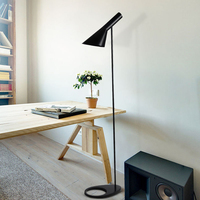 Nordic Arne Jacobsen Design AJ Led Floor Lamps Living Room Floor Lamp Bedroom Bedside Lamp Floor Standing Light Luminaria