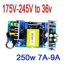Dykb AC DC conversor ac 220v 240v a 36v 7a 250w interruptor da fonte de alimentação inversor industrial módulo placa motor para amplificador