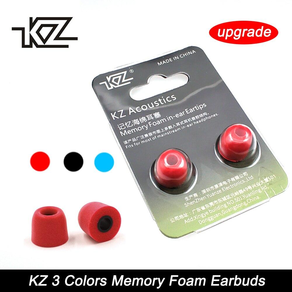 KZ 1Pair(2pcs) T400 Noise Isolating Memory Foam Ear Tips
