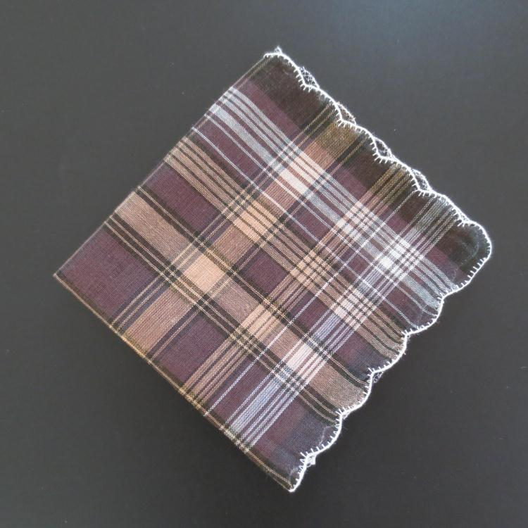 10PCS 28cm Fashion Cotton Men Multicolor Handkerchief Square Stripe Pocket Scarf Wedding Party Gift Strong Water Absorption in Handkerchief Towels from Home Garden