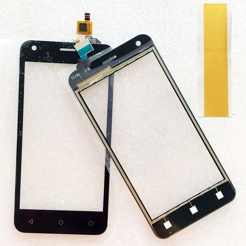 New Model Touch Screen Digitizer For Fly FS454 nimbus 8 FS 454 Touch Screen Glass Front Outer Sensor Panel Black White image