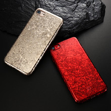 FLOVEME Luxury Phone Case for iPhone 6 6s plus Ultra Slim Back Cover Cases For iphone 7 Ice Crack Hard Fundas