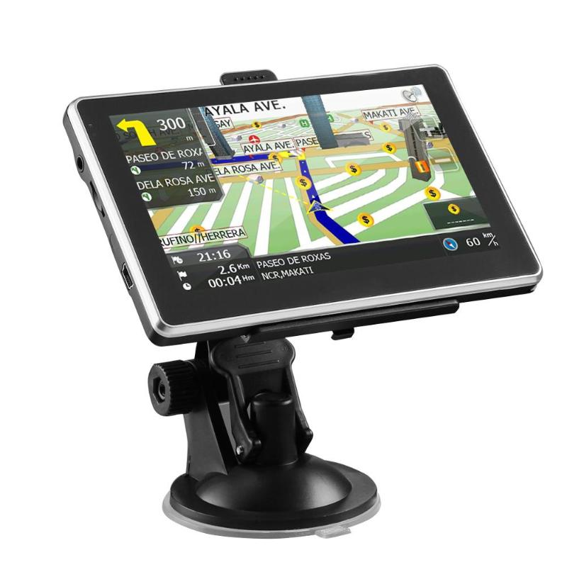 VODOOL 5 Touch Screen 8GB Auto Car Navigation GPS Navigator FM AV-IN SAT NAV Video Audio Player FM Transmitter with Map