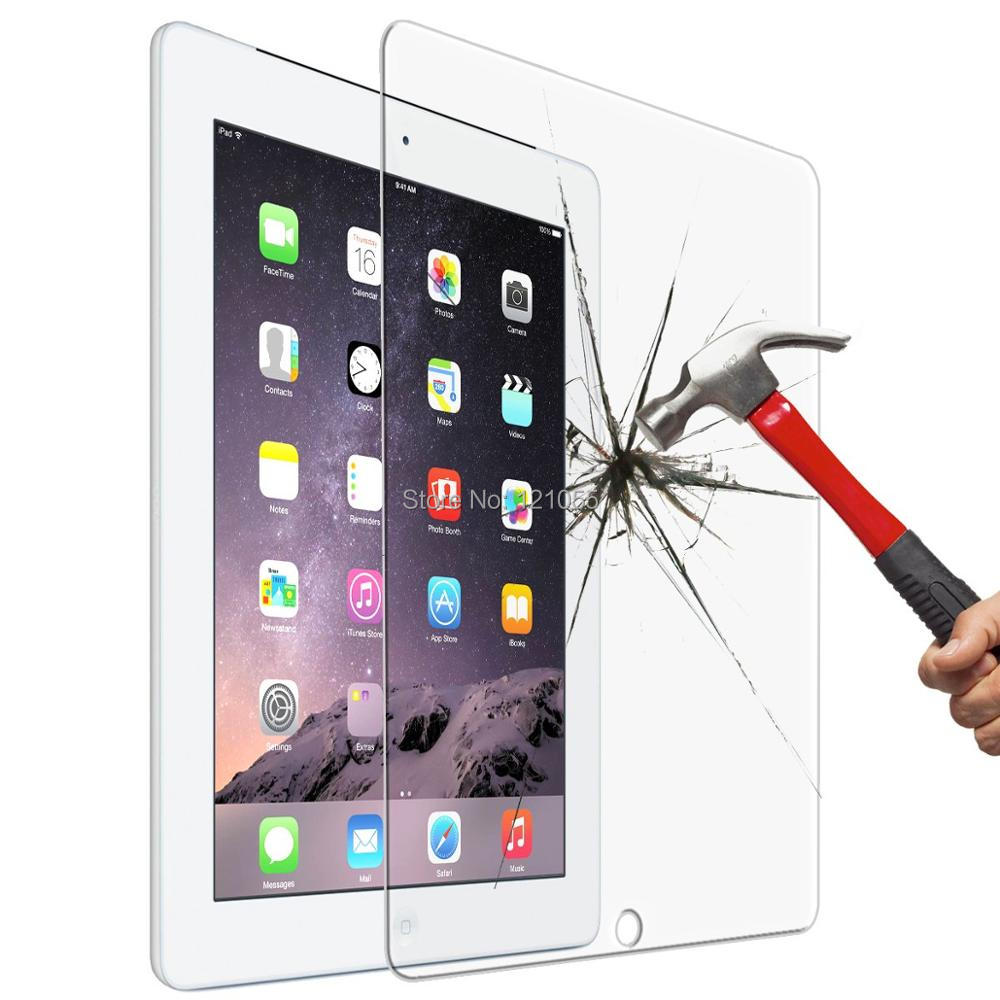 10pcs/LOT 2019 New 9.7 Tempered Glass For IPad 7 10.2 Inch Screen Protector For Ipad Mini 5 Air Pro Glass Tablet Protective Film