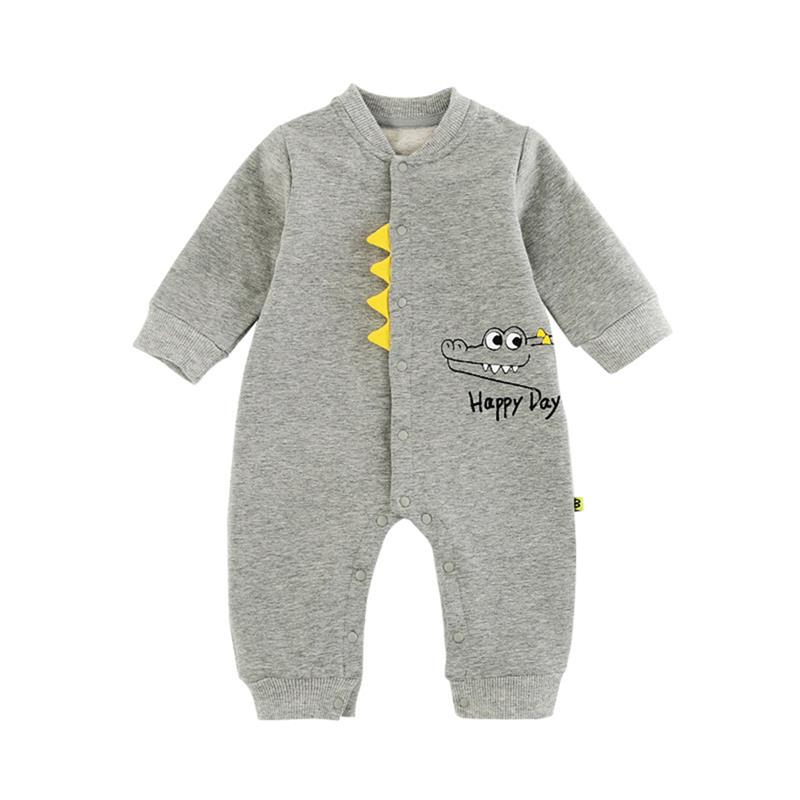 One Piece Newborn Kids Baby Boys Girls Clothes Animal Printed Long Sleeve INS Fashion Romper Jumpsuit Clothes Easter Outfits in Bodysuits from Mother Kids