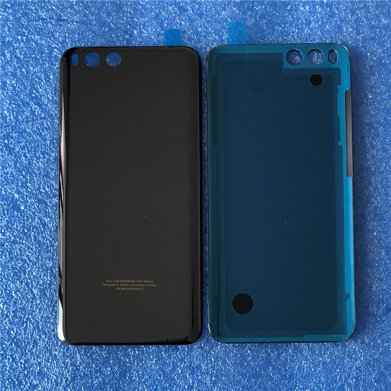 "Original Axisinternational For 5.15"" Xiaomi 6 Mi 6 Ceramic Back Battery Cover With 3M Adhesive For Xiaomi MI6 Housing Repairs(China)"