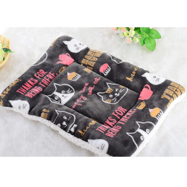 Pet Large Dog Blanket Bed Washable House Puppy Cushion Large Dog Cage Mat Mattress Kennel Soft Crate Multifunction Mat 4