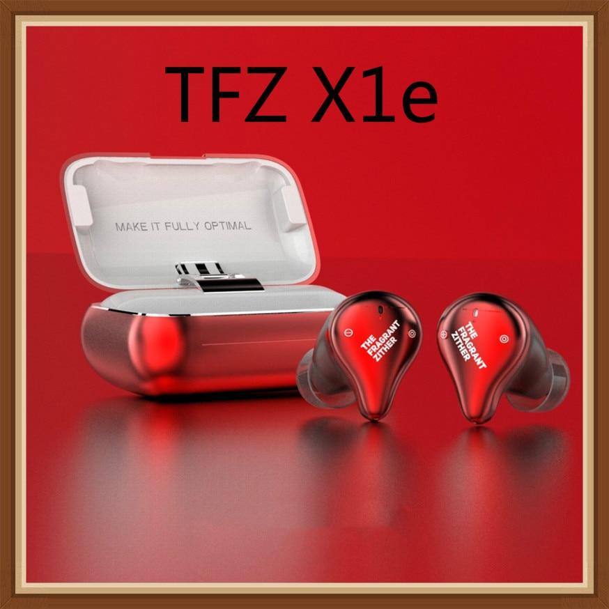 TFZ X1E X1e 5.0 Bluetooth Wireless Dynamic Earphone HIFI Noise Reduction IP67 Waterproof Dual Mic True Wireless In Ear EarphonesTFZ X1E X1e 5.0 Bluetooth Wireless Dynamic Earphone HIFI Noise Reduction IP67 Waterproof Dual Mic True Wireless In Ear Earphones