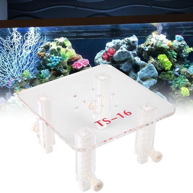 قابل للتعديل البلاستيك دعم فلتر حوض سمك السمك البيض مقسم مع جداول للأسماك البروتين مقشدة حوض السمك