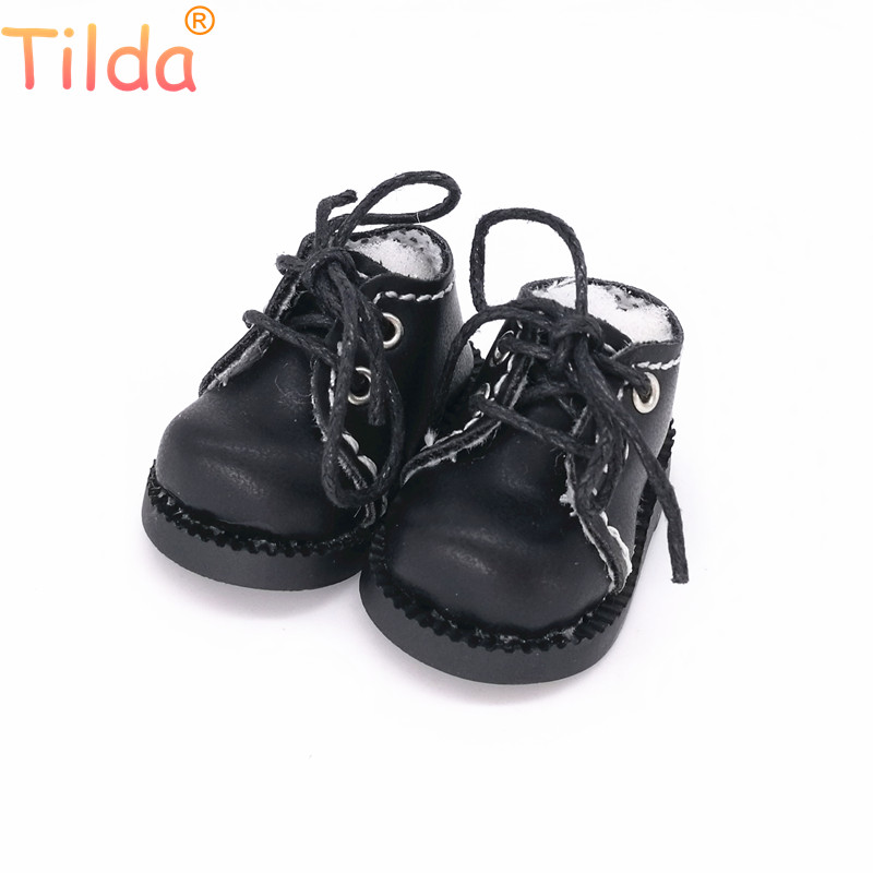 Tilda 1/6 Doll Boots Toy Shoes For Blythe Realfee Doll,4cm Mini Boots Shoes For Blyth Accessories For EXO KPOP 15cm Dolls