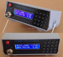 RF מחולל אותות FM כוח CTCSS תדר מד Tester לשדר מקלט