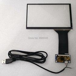 Емкостный сенсорный экран 7 дюймов 10 точечный USB универсальный интерфейс Поддержка Android linux WIN7810 plug and play