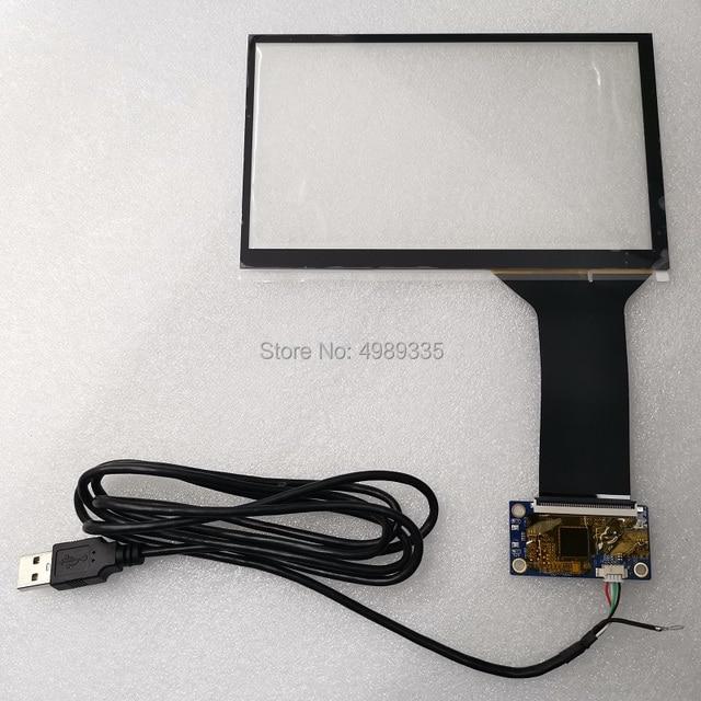 شاشة اللمس بالسعة 7 بوصة 10 نقطة USB واجهة عالمية دعم أندرويد لينكس WIN7810 التوصيل والتشغيل