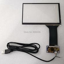 Tela de toque capacitivo 7 polegada 10 ponto usb interface universal suporte android linux win7810 plug and play