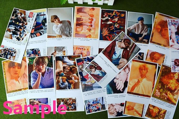 Costumes & Accessories Kpop Got7 Jackson Wang Fanart Postcard Post Cards Sticker Artbook Gift Cosplay Props Book Set Collection