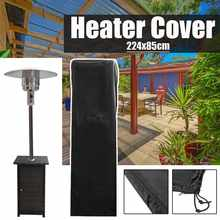 224x82cm Patio Heater Cover Protector for Mushroom Shape Type Heater Durable Waterproof UV Resistance Outdoor Home Garden(China)
