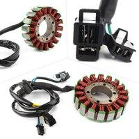 Cobre Magneto motor bobina de estator generador para Suzuki AN250 Burgman250/AN400 AN400Z Burgman400 Motorycycle partes