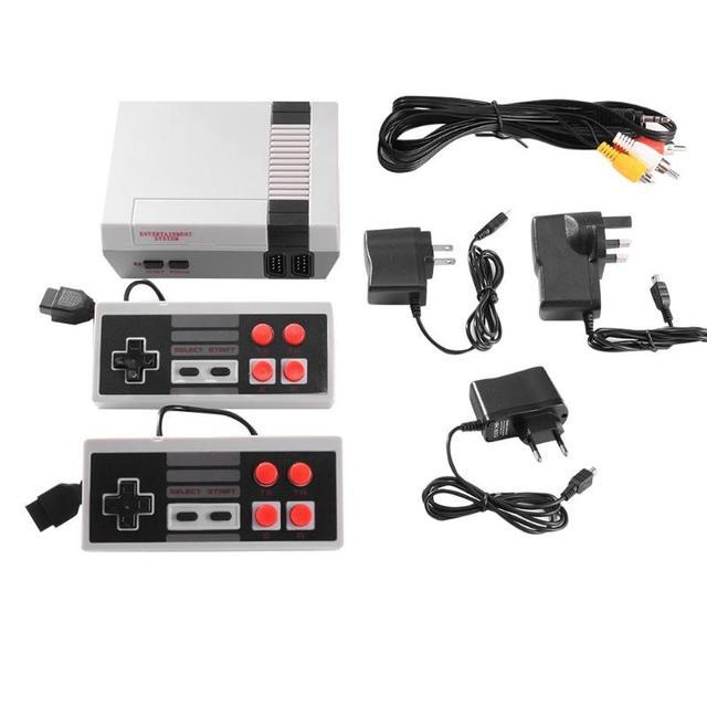 Wbudowana 500/620/621 gry Mini konsola do gier TV 8 Bit Retro Classic przenośna konsola do gier AV/wyjście HDMI gra wideo konsoli zabawki