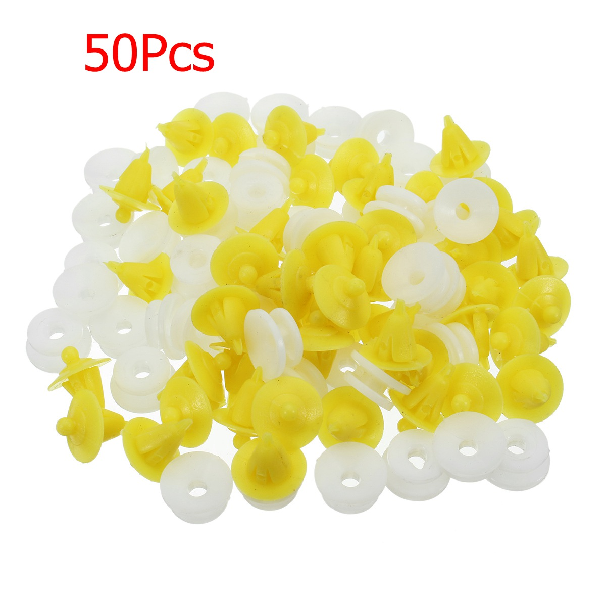 50Pcs Car Interior Door Card Panel Plastic Clips for Renault Clio Megane Scenic Twingo