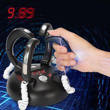 Электрический шокирующий детектор лжи Регулируемая реакционная игрушка взрослые бар Вечерние развлечения лжец истина настольная реакционная игровая консоль