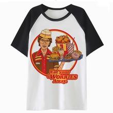 fb5ab2be81 white t shirt streetwear tee t-shirt harajuku men male clothing funny hip  tshirt top