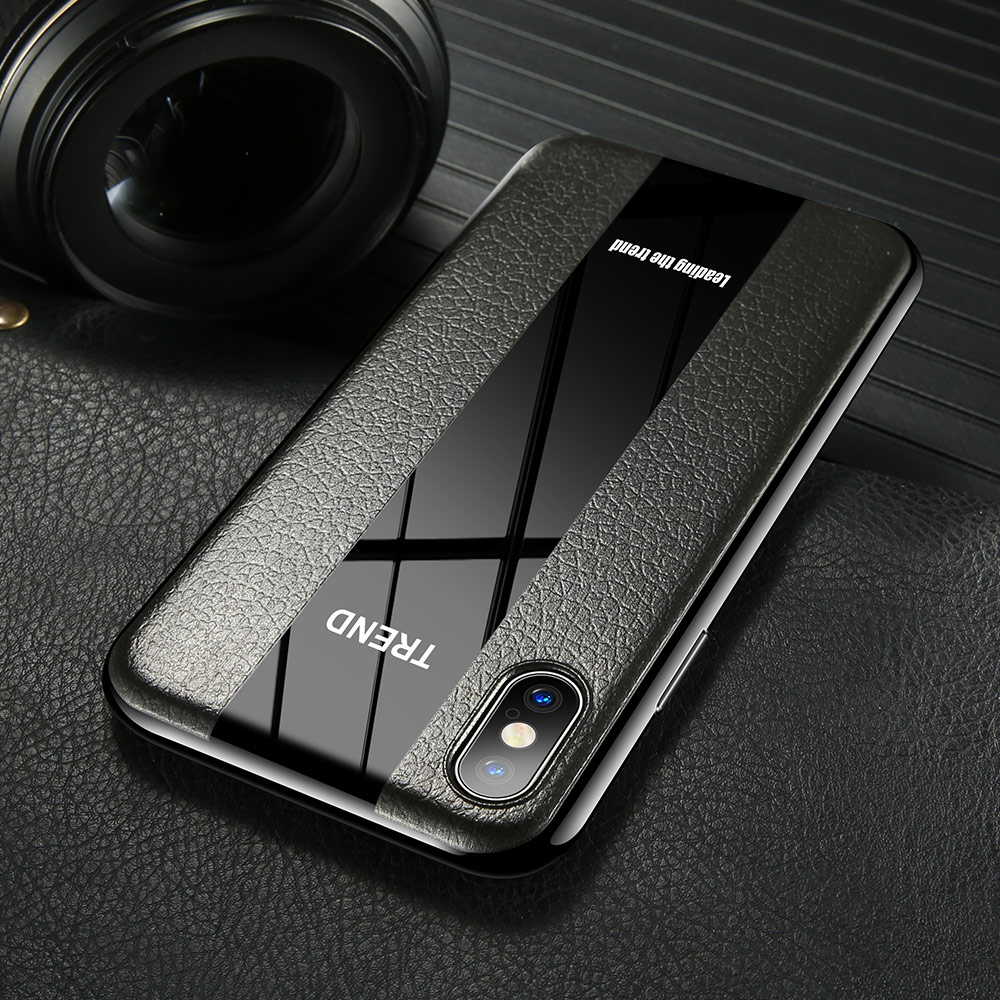 KISSCASE Luxury Racing Car Leather Case For iPhone 6 6S 7 8 Plus Texture Soft TPU Back Covers For iPhone X XR XS Max Case Funda in Fitted Cases from Cellphones Telecommunications