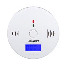 LCD tlenku węgla CO zatrucie czujnik Monitor czujnik alarmowy biały dla bezpieczeństwa czujnik tlenku węgla tanie tanio KKMOON Carbon Monoxide Detect Detektory tlenku węgla Alarms within 120 Minutes Alarms within 60~90 Minutes Alarm within 10~40 Minutes