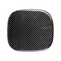 Car Styling Carbon Fiber Fuel Tank Cap Sticker Cover Trim 18.7cm*17cm for Cadillac XT5 2016 2017 Car Exterior Accessories