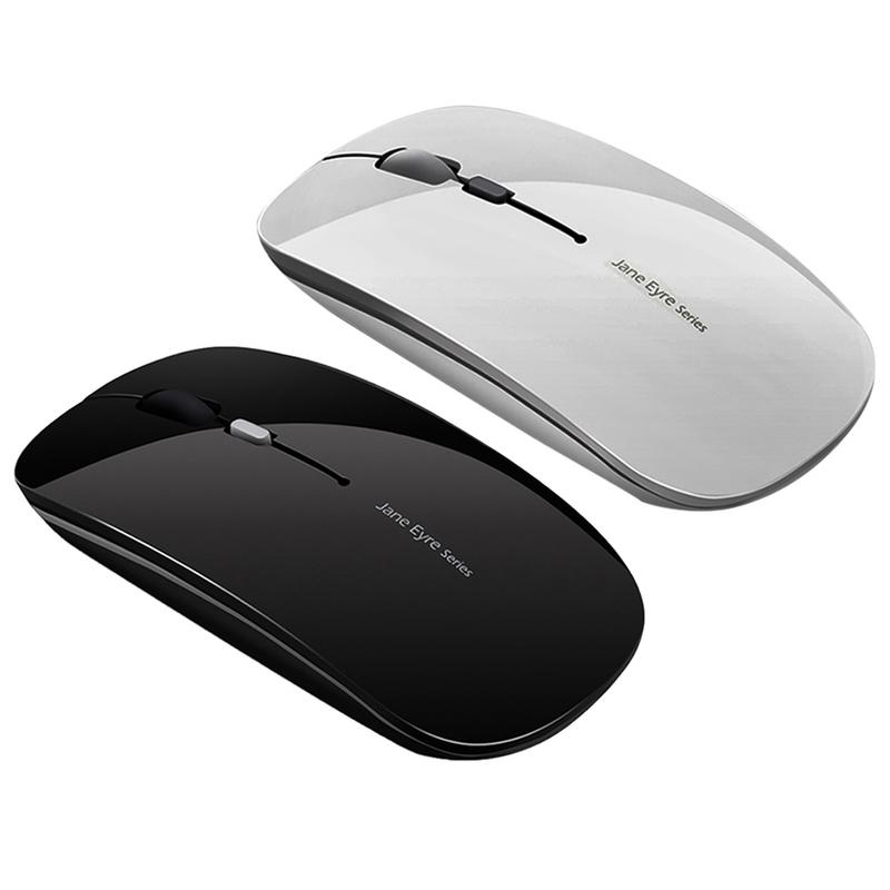 M815 2.4 G Wireless Bluetooth Dual Mode Mouse Office Mute Laptop Unlimited Gaming Ultrathin Mouse Built-in Rechargeable Battery