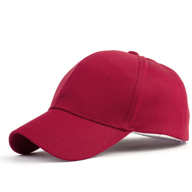 2019 Ponytail Baseball Cap Messy Bun Hats For Women Washed Cotton Snapback Caps Casual Summer Sun Visor Female Outdoor Sport Hat 8