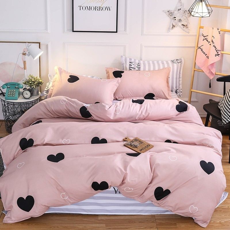 Bedding Home Textile Solstice Home Textile Duvet Cover Pillowcase Flat Sheet Gray Stripe Nordic Simple Bedding Set Teen Adult Boy Woman Bed Linen Kit Moderate Price