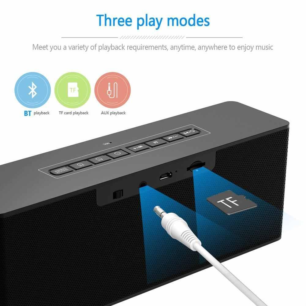 ワイヤレス警報時計 BT ホーム充電式置時計ミニディスプレイ Tf カード FM オーディオ入力低音スピーカーアラーム時計ボックス