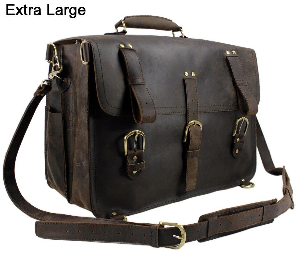vintage Crazy Horse leather men travel bag luggage bag big genuine leather travel backpack Large Men duffle bag weekend